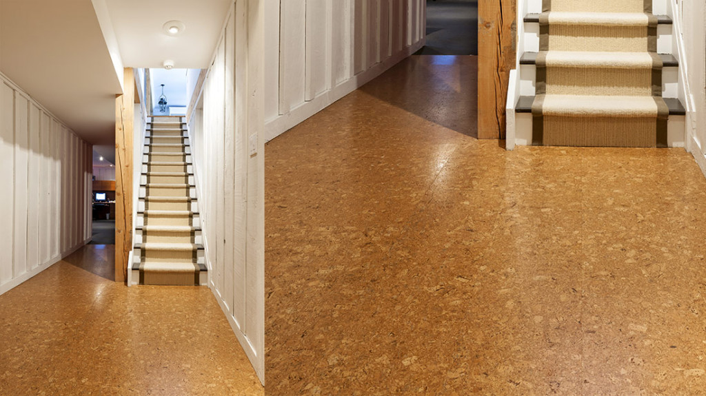Cork floor tiles oxfordshire kennington flooring for Cork floor tiles
