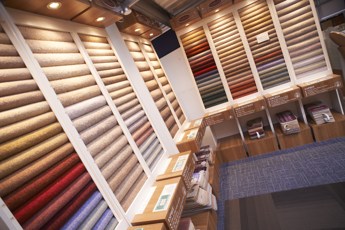 The Kennington Flooring Carpet Showroom