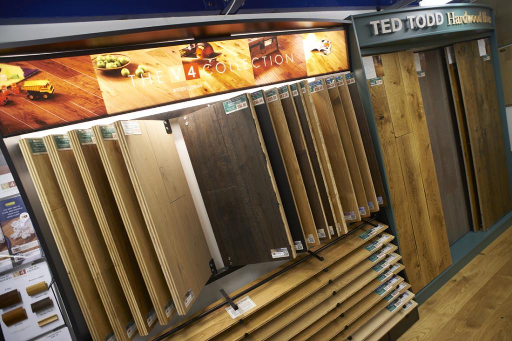 Visit our carpet flooring showroom kennington flooring for Hardwood floor showroom