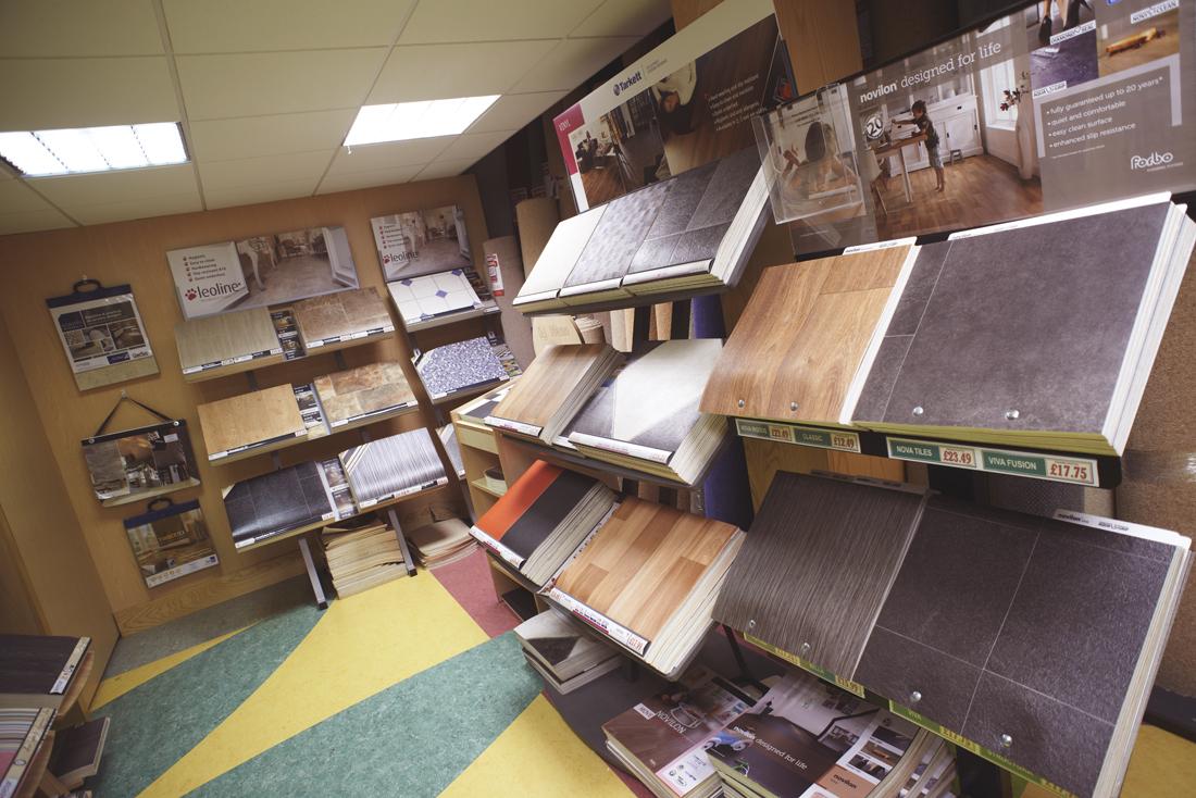 The Kennington Flooring Vinyl Flooring Showroom 3