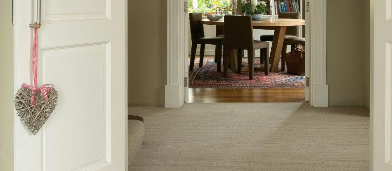 sand coloured living room carpet
