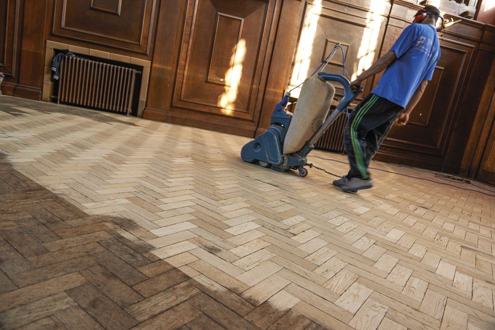 Floor sanding oxfordshire kennington flooring for Sanding hardwood floors