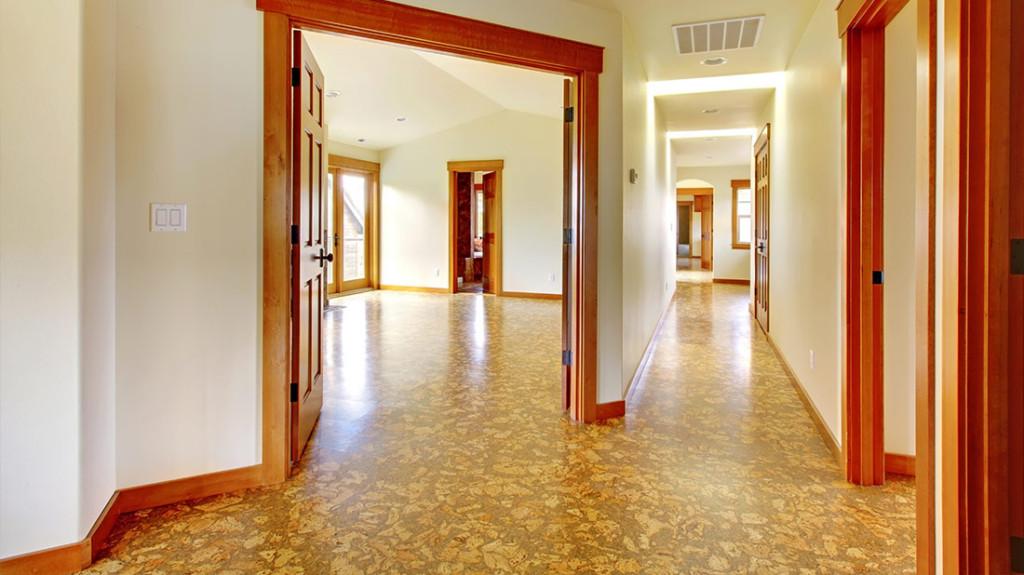 Cork floor tiles oxfordshire kennington flooring for Cork linoleum